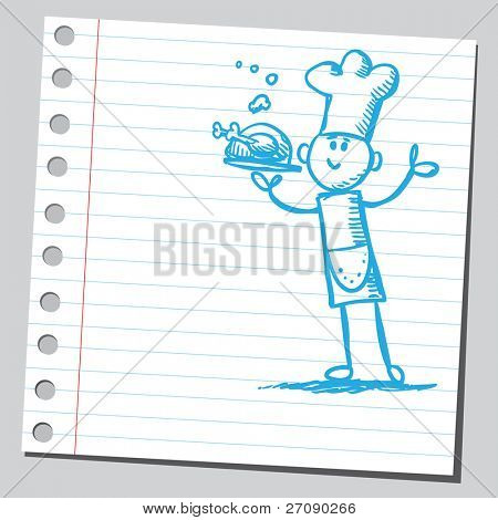 Scribble chef