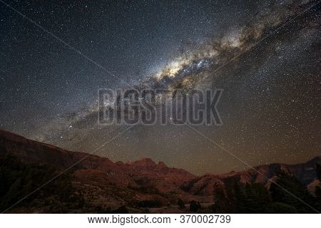 A Magical Milky Way Night Sky Photograph Of The Galactic Centre
