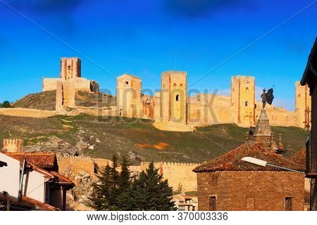 View Of Castle Of Molina De Aragon. Provincia De Guadalajara, Spain