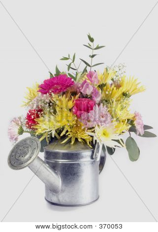 Flowers And Can