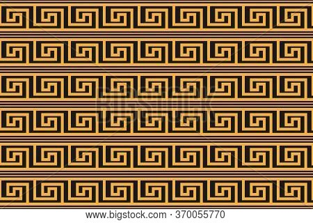 Abstract Seamless Pattern In Greek Style For Wide Application In Decoration And Decoration Of Textil