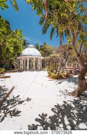 Shrine Rotunda Located On Matinloc Island, El Nido, Palawan, Philippines