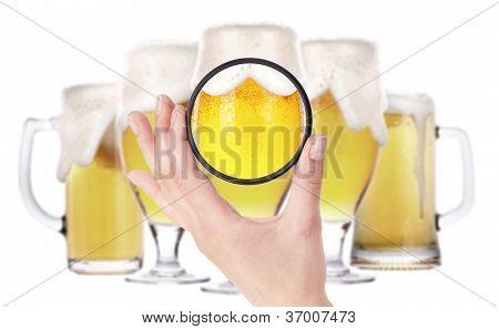 Beer Glass Throw Camera Filter