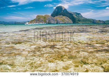 El Nido Bay And Cadlao Island, Palawan, Philippines