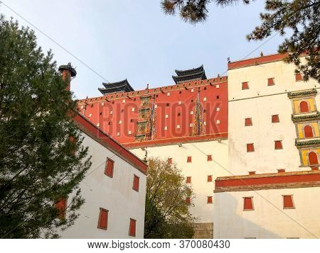 The Putuo Zongcheng Buddhist Temple, One Of The Eight Outer Temples Of Chengde, Built Between 1767 A