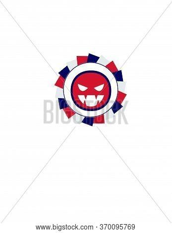 Halloween Lantern Pumpkin Candy Vector Icon And Logo