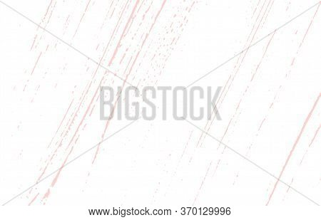 Grunge Texture. Distress Pink Rough Trace. Fantastic Background. Noise Dirty Grunge Texture. Likable