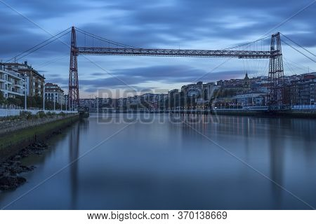 Historic Bizkaia Bridge Between Portugalete And Las Arenas (getxo), Spain, Europe