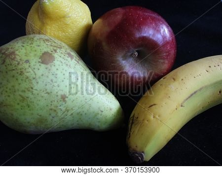 Healthy Natural Fruits Taste Tasty Food Delicious Fruit Apple Nutty Nutty Banana Pear