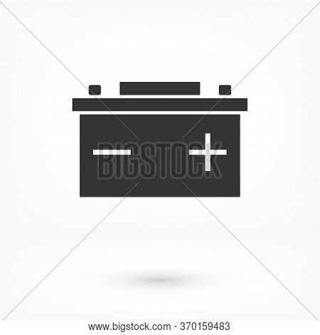 Vector Icon Battery, Design Illustration Battery. Flat Battery. Design Battery