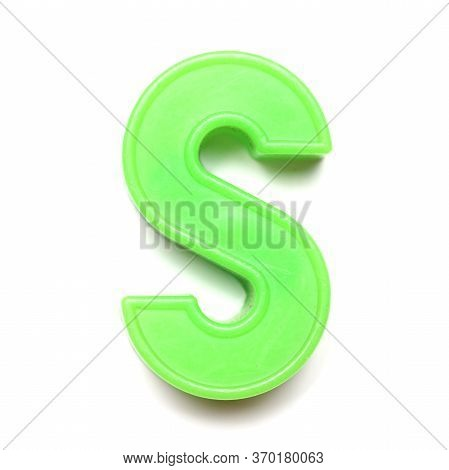 Magnetic Uppercase Letter S