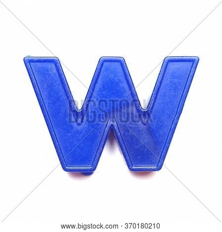 Magnetic Lowercase Letter W