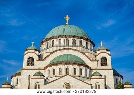 Saint Sava Church, Orthodox Christian Church In Belgrade, Serbia