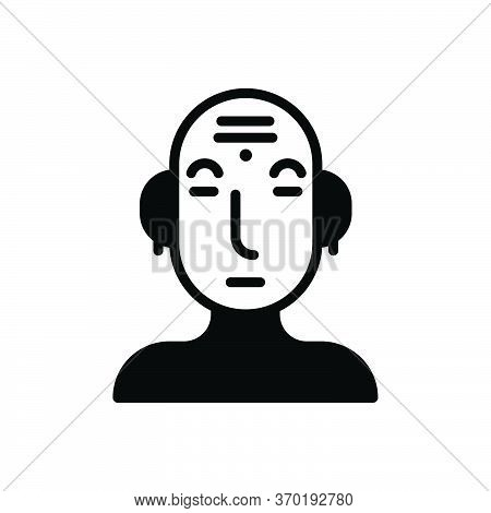 Black Solid Icon For Culture Civilization Traditional Conventional Custom Consuetude