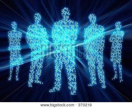 Binary Digit mensen 2