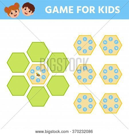 Math Educational Game For Children And Adults Development Of Logic Iq. Assemble The Puzzle. Workshee