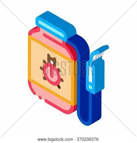 Portable Poison Tank For Beetles Icon Vector. Isometric Portable Poison Tank For Beetles Sign. Color
