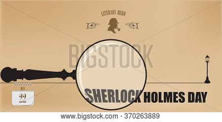 Post Card For Event May Day Sherlock Holmes Day