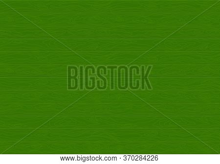 Green Christmas Wood Texture Background. Wood Texture Table Or Wooden Floor. Boards On The Floor Or
