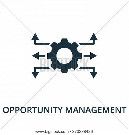 Opportunity Management Icon From Reputation Management Collection. Simple Line Element Opportunity M