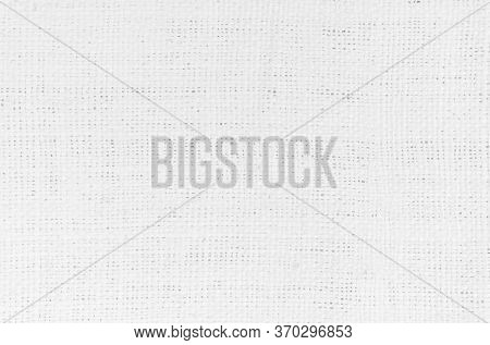 White Abstract Cotton Towel Mock Up Template Fabric On Backgroun