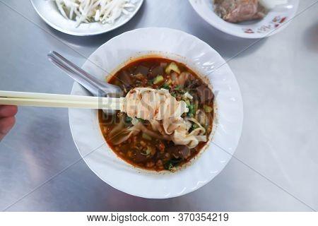 Pasta Or Noodles , Thai Noodles Or  Eating Noodles