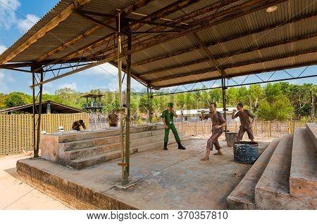 Coconut Prison In Phu Quoc Vietnam