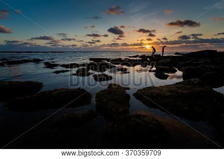 Sunset On Ong Lang Beach Phu Quoc
