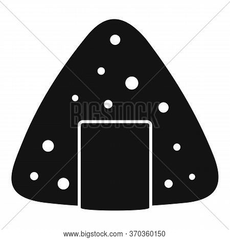 Japan Tent Icon. Simple Illustration Of Japan Tent Vector Icon For Web Design Isolated On White Back