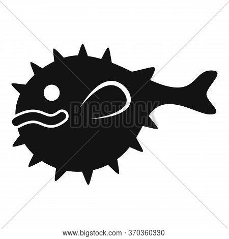 Japanese Spike Fish Icon. Simple Illustration Of Japanese Spike Fish Vector Icon For Web Design Isol
