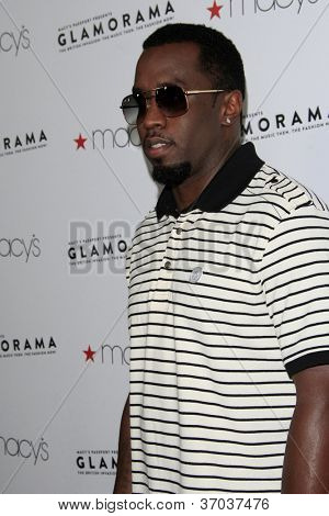 LOS ANGELES - SEP 7:  Sean Combs arrives at the Macy's Passport 30th Glamorama at Orpheum Theater on September 7, 2012 in Los Angeles, CA
