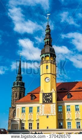 The Town Hall Of Bautzen In Saxony, Germany
