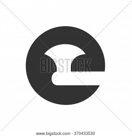 Initial Letter C And Axe Logo Icon Design, Ax With Alphabet C Symbol