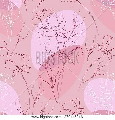 Flowers Leaves Vector Photo Free Trial Bigstock