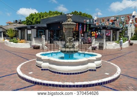 Seaport Village, Waterfront Shopping And Dining Complex In San Diego, Famous Travel Tourist Attracti