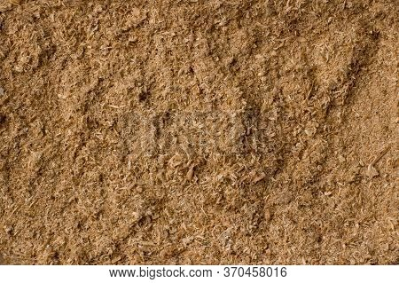 Background And Texture Of Wooden Sawdust And Wood Dust