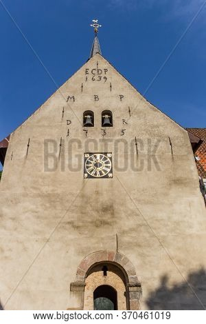 Facade Of The Monastery Church In Holm Village Of Schleswig, Germany