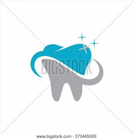 Dental Logo Vector, Dental Icon Isolated On White Background. Dental Icon Trendy And Modern Dental S
