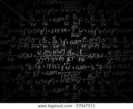 Black equation shaded background.
