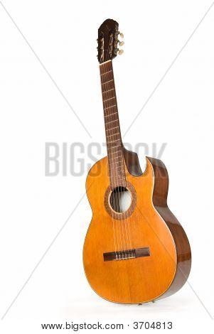 сLassical Guitar With Cut Body 3
