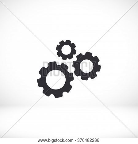 Performance Outline Icon Gear Isolated On Background For Website Design, Mobile Apps, User Interface