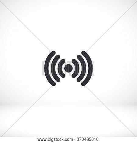 Wi-fi Icon. Eps 10 Wi-fi Vector. Wi-fi Flat Design. Wi-fi 10 Eps Icon