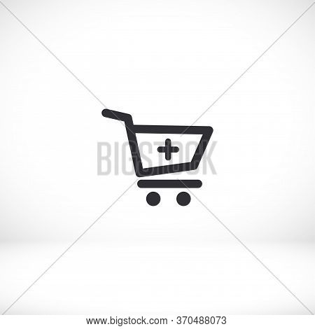 Cart Add To Cart Icon. Vector Eps 10. Lorem Ipsum Flat Design Shopping Cart. Add. Download. Purchase