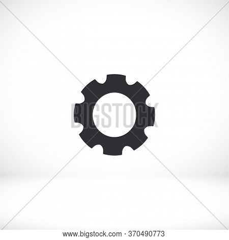 Gear Icon. Gear. Vector Graphics Display Work Style. Gear Vector Graphics. For Your Site. Gear 10 Ep