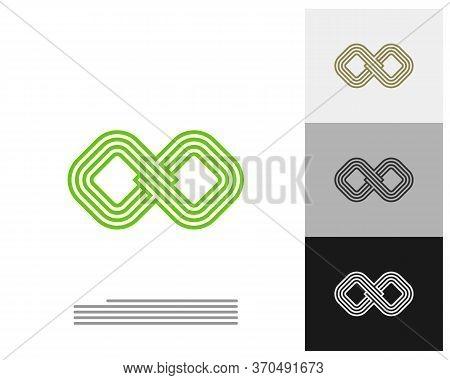 Infinity Logo Vector Template, Creative Infinity Logo Design Concept