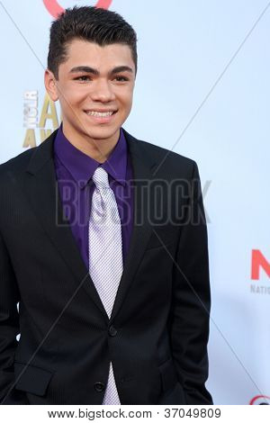 LOS ANGELES - SEP 16:  Adam Irigoyen arrives at the 2012 ALMA Awards at Pasadena Civic Auditorium on September 16, 2012 in Pasadena, CA