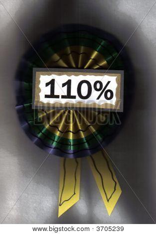 110 Percent Light Background