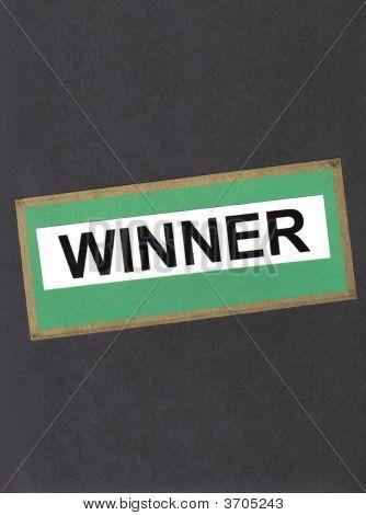 Winner On Black