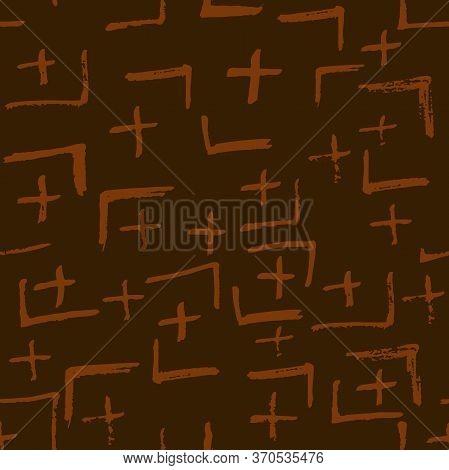 Tie Dye Japanese Geometric Artistic Seamless Pattern. Scribble Cartoon Doodle Craft Texture. Geo Wab
