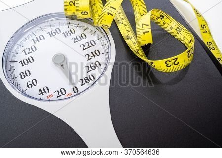 Human weight Dial measuring scale and measuring tape